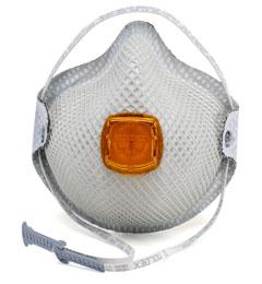 Respirador contra particulas serie 2800 N95